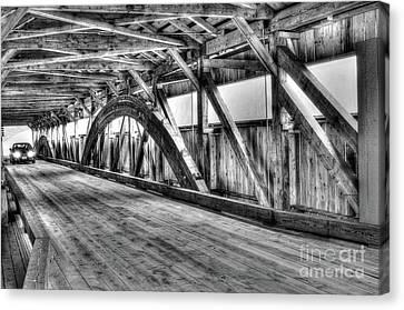 Taftsville Covered Bridge Canvas Print