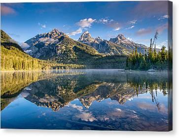 Taggart Lake Canvas Print