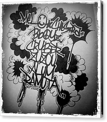 Canvas Print - Tagging by Zyzou Fukuno Daisuke