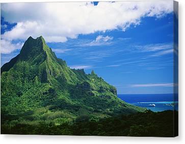 Tahiti, Moorea Canvas Print by Vince Cavataio - Printscapes