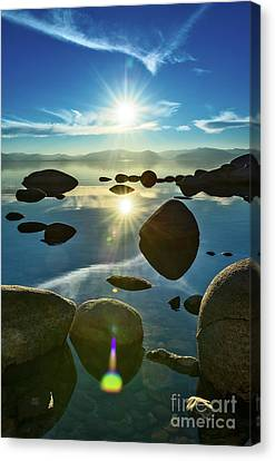 Unique View Canvas Print - Tahoe Star by Jamie Pham
