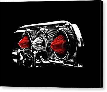 Tail Light Canvas Print by Mark Rogan