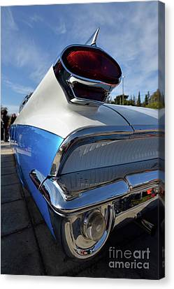 Tail Lights Of 1959 Oldsmobile Dynamic 88 Canvas Print