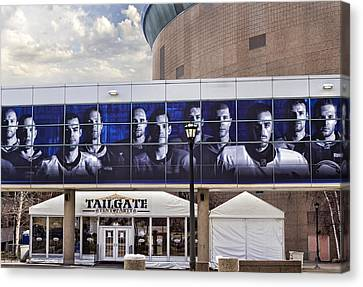 Tailgate Canvas Print by Peter Chilelli