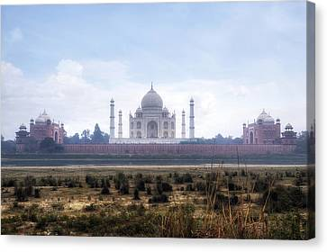 Taj Mahal - India Canvas Print by Joana Kruse