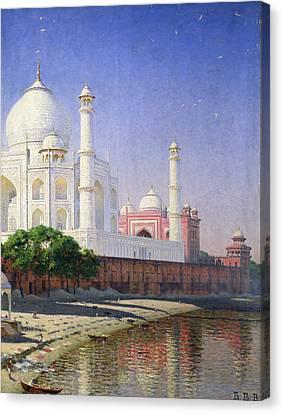 Taj Mahal Canvas Print by Vasili Vasilievich Vereshchagin