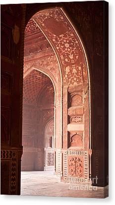 Taj Opening Canvas Print by Mike Reid