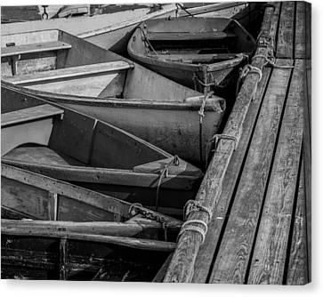 Rowboat Canvas Print - Take A Bow by Joseph Smith