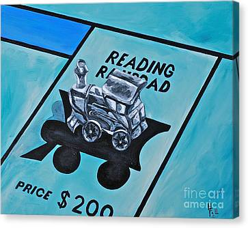Take A Ride On The Reading  Canvas Print by Herschel Fall