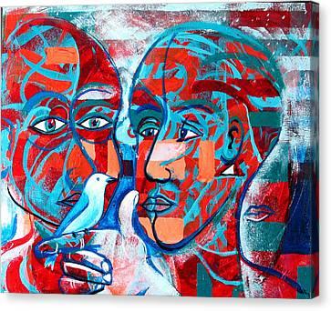 Take Care  My Love Canvas Print by Rollin Kocsis