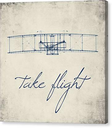 Take Flight Canvas Print by Brandi Fitzgerald