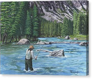 Take It  Take It  Canvas Print by Timithy L Gordon