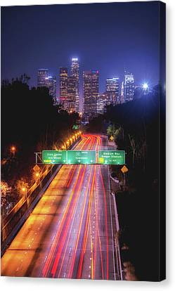 Take Me Downtown Canvas Print