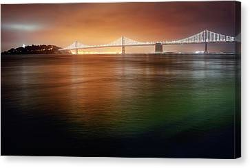 Canvas Print featuring the photograph Take Me Home Tonight by Peter Thoeny
