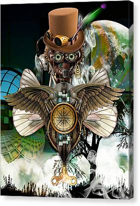 Steam Punk Canvas Print - Take Off by Marvin Blaine