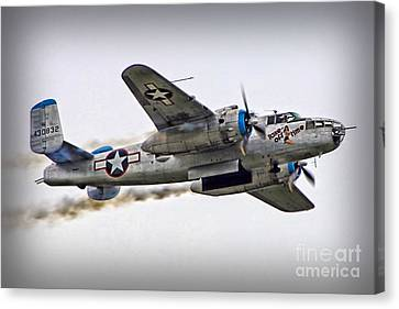 Take Off Time Canvas Print by DJ Florek