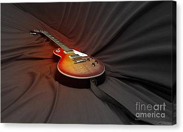 Taking A Break From My Hands Canvas Print by Steven Digman