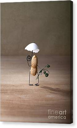 Odd Canvas Print - Taking A Walk 01 by Nailia Schwarz