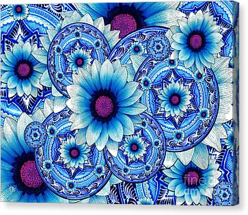 Talavera Alejandra Canvas Print by Christopher Beikmann