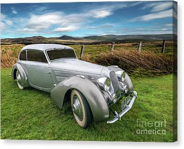 Talbot Darracq Canvas Print by Adrian Evans