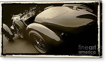 Talbot Lago 26 Ss Canvas Print by Curt Johnson
