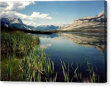 Talbot Lake Canvas Print by Shirley Sirois