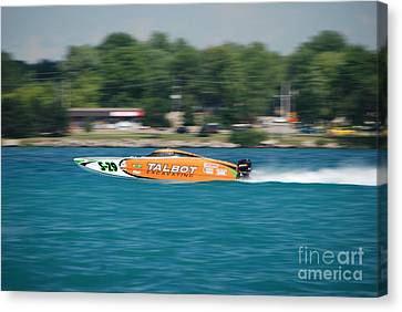 Talbot Offshore Racing Canvas Print