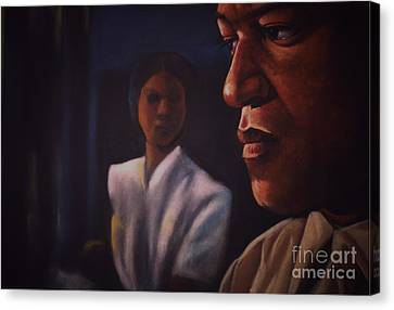 Talk To Me Baby I Canvas Print by Curtis James