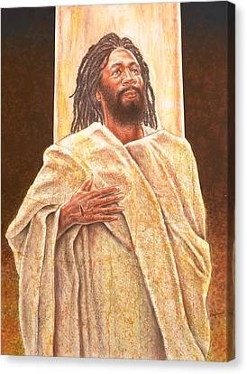 Talkin' Bout Jesus Canvas Print by Raymond Walker