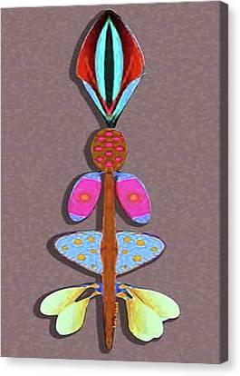 Talking Stick Canvas Print