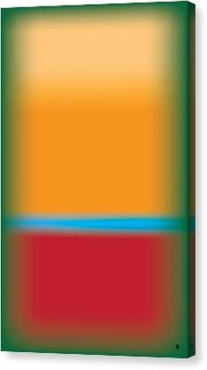 Tall Abstract Color Canvas Print by Gary Grayson