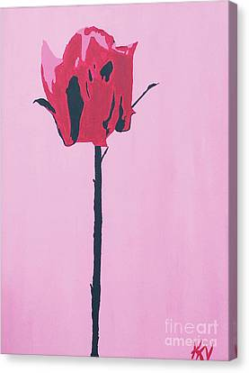 Canvas Print - Tall Beauty by Karen Nicholson