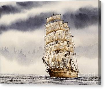Tall Ship Adventure Canvas Print by James Williamson