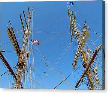 Tall Ship Series 16 Canvas Print by Scott Hovind