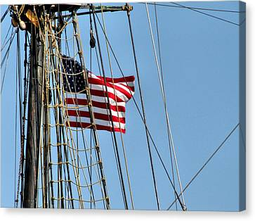 Tall Ship Series 3 Canvas Print by Scott Hovind