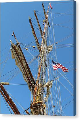 Tall Ship Series 8 Canvas Print by Scott Hovind