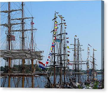 Tall Ship Series 9 Canvas Print by Scott Hovind