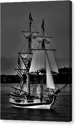 Tall Ships In Tacoma 2 Canvas Print by David Patterson