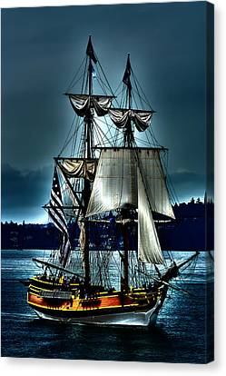 Tall Ships - Tacoma Washington Canvas Print by David Patterson