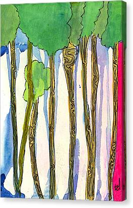 Tall Trees Canvas Print by Tonya Doughty