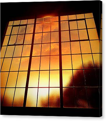 Tall Windows #1 Canvas Print by Maxim Tzinman