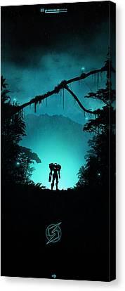 Prime Canvas Print - Tallon Overworld by Colin Morella