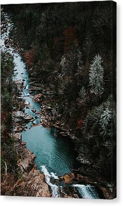 Tallulah Falls Georgia  Usa Canvas Print by Jessica Furtney