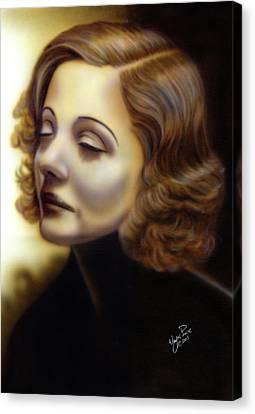 Tallulah II Canvas Print by Wayne Pruse
