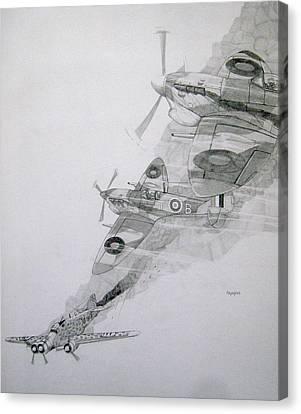 Tally-ho Canvas Print