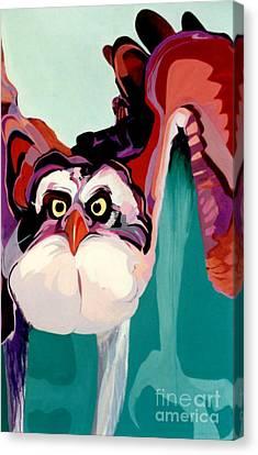 Talons Down Canvas Print by Marlene Burns
