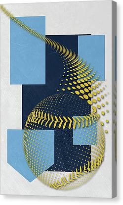Tampa Bay Rays Art Canvas Print by Joe Hamilton