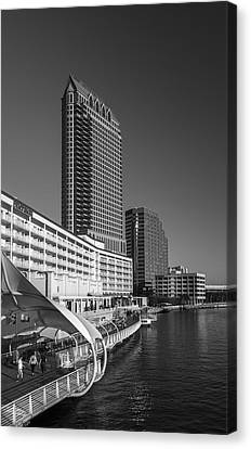 Tampa Gateway Canvas Print by Marvin Spates