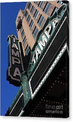Tampa Theatre  Canvas Print by Carol Groenen