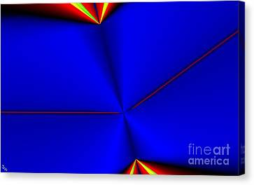 Tangent Canvas Print by Ron Bissett